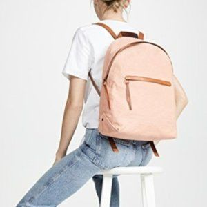Madewell The Charleston Backpack in Antique Coral